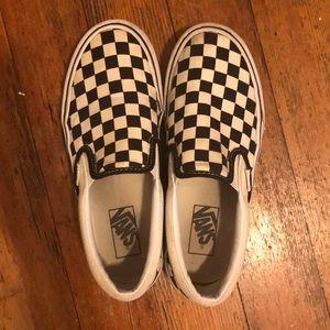 Vans Classic Slip-Ons Platform Checkered